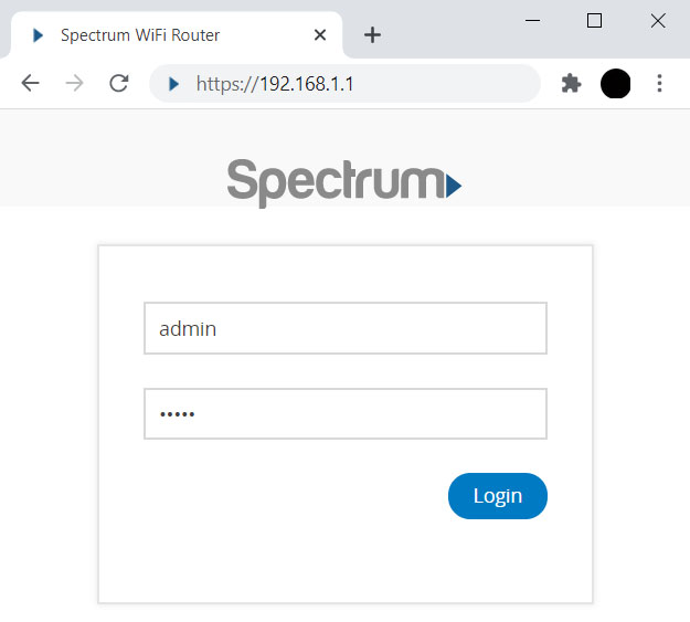 log-in-to-spectrum-router